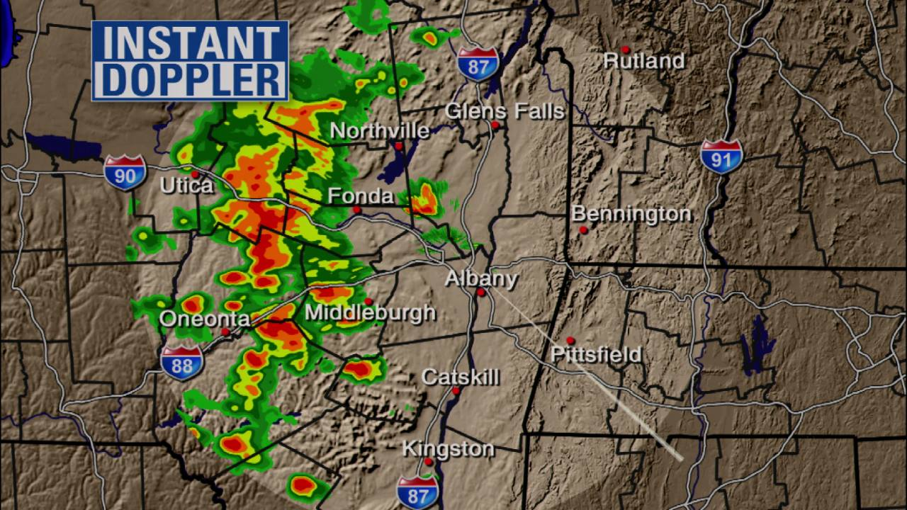cbs6albany com Heavy Rain and Localized Severe T'Storms